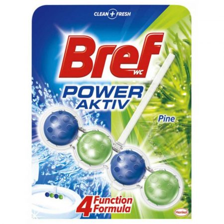 sprzęt biurowy 4 alibiuro.pl Kulki toaletowe BREF Power Aktiv Pine 50g 68