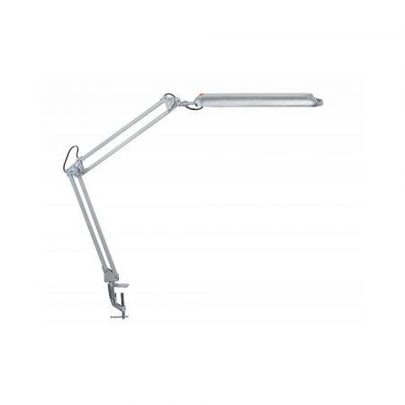 sprzęt biurowy 4 alibiuro.pl Lampka LED na biurko MAULatlantic 9W mocowana zaciskiem srebrna 6