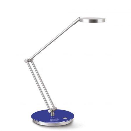sprzęt biurowy 4 alibiuro.pl Lampka na biurko CEP CLED 400 7 5W ze ściemniaczem srebrno niebieska 54