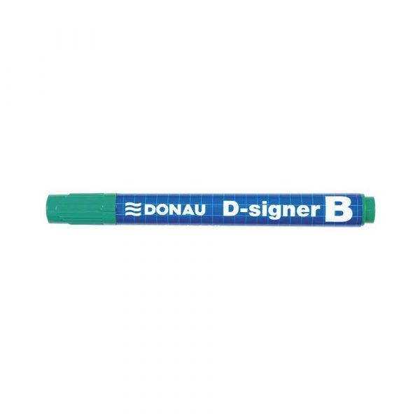 sprzęt biurowy 4 alibiuro.pl Marker do tablic DONAU D Signer B okrągły 2 4mm linia zielony 17