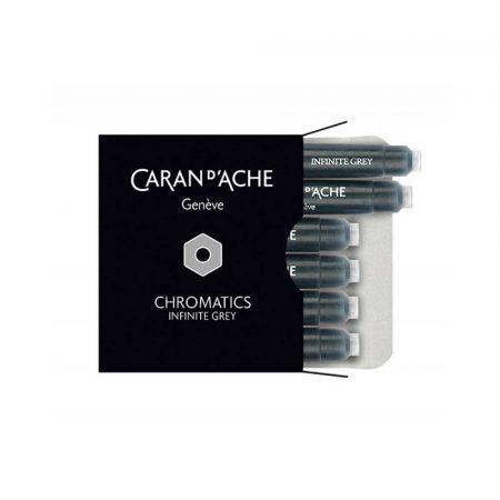 sprzęt biurowy 4 alibiuro.pl Naboje CARAN D Inch ACHE Chromatics Infinite Gray 6szt. szare 57