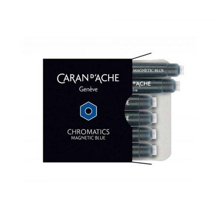 sprzęt biurowy 4 alibiuro.pl Naboje CARAN D Inch ACHE Chromatics Magnetic Blue 6szt. jasnoniebieskie 56