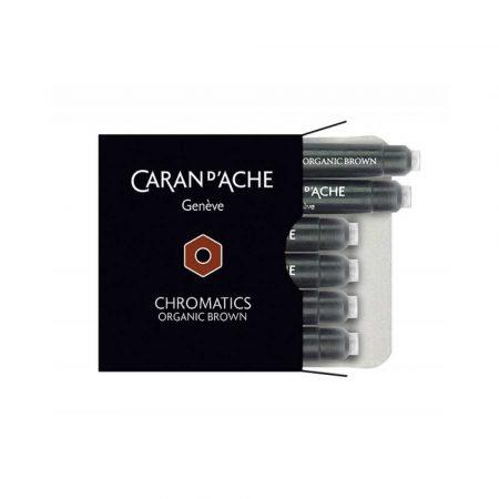 sprzęt biurowy 4 alibiuro.pl Naboje CARAN D Inch ACHE Chromatics Organic Brown 6szt. brązowe 52