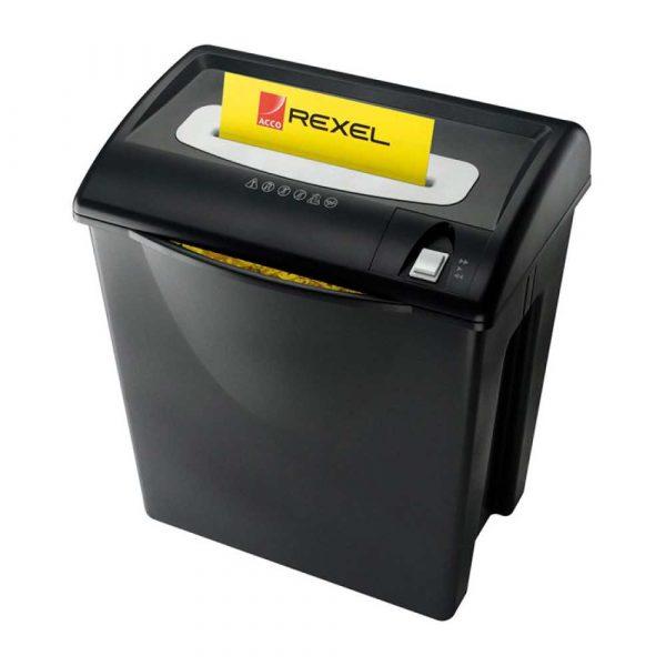 sprzęt biurowy 4 alibiuro.pl Niszczarka REXEL V120 paski P 2 12 kart. 35l karty kredytowe czarna 81