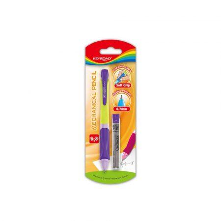 sprzęt biurowy 4 alibiuro.pl Ołówek KEYROAD Smoozy automatyczny 0 7mm z grafitami blister mix kolorów 76