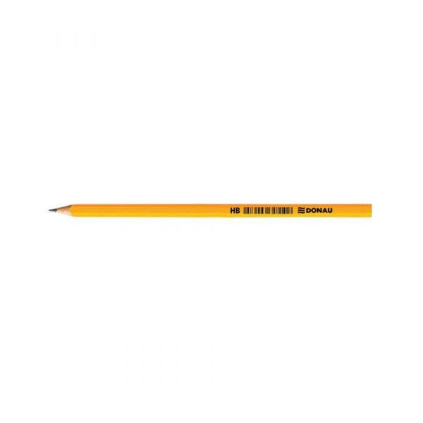sprzęt biurowy 4 alibiuro.pl Ołówek drewniany DONAU HB lakierowany żółty 24