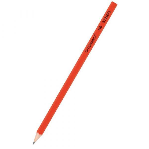 sprzęt biurowy 4 alibiuro.pl Ołówek drewniany Q CONNECT HB lakierowany czerwony 23