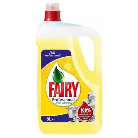 sprzęt biurowy 4 alibiuro.pl Płyn do mycia naczyń FAIRY Lemon profesjonalny 5l 64
