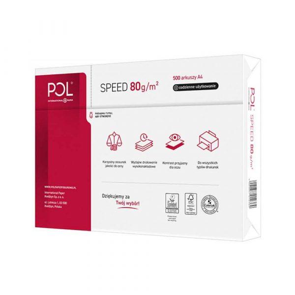 sprzęt biurowy 4 alibiuro.pl Papier kserograficzny IP POL SPEED A4 klasa C 153CIE 80gsm 500ark. 26