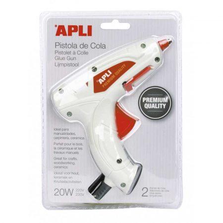 sprzęt biurowy 4 alibiuro.pl Pistolet Premium do kleju termotopliwego APLI 20W 71