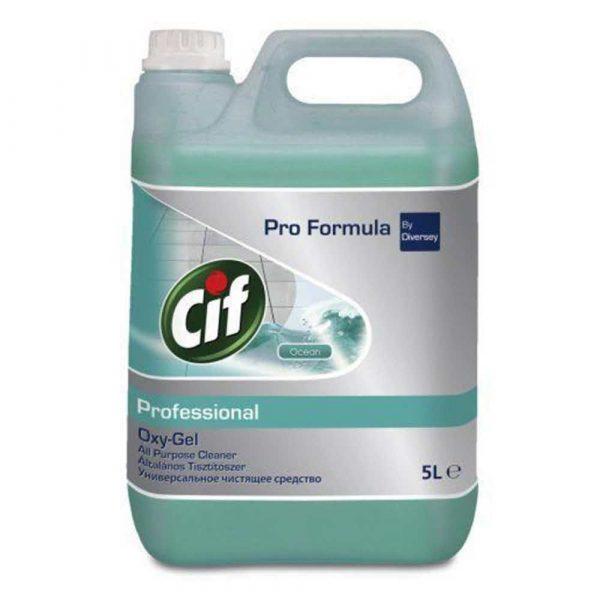 sprzęt biurowy 4 alibiuro.pl Preparat do mycia podłóg CIF Diversey 5L 77