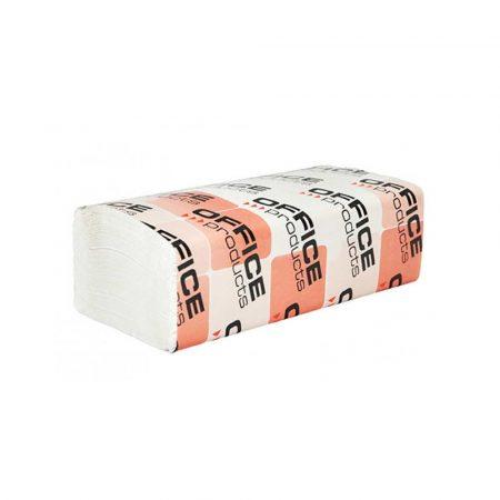 sprzęt biurowy 4 alibiuro.pl Ręczniki składane ZZ celulozowe OFFICE PRODUCTS 2 warstwowe 3000 listków 20szt. białe 94