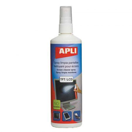 sprzęt biurowy 4 alibiuro.pl Spray do czyszczenia ekranów TFT LCD APLI 250ml 19