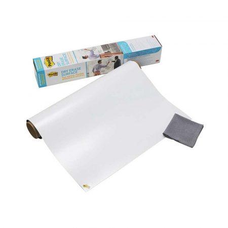 sprzęt biurowy 4 alibiuro.pl Suchościeralna folia w rolce POST IT Dry Erase DEF50X4 EU 1524x121cm biała 26