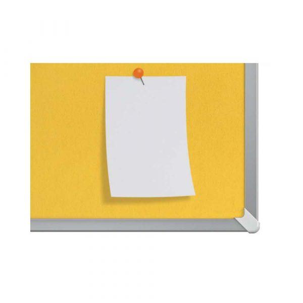 sprzęt biurowy 4 alibiuro.pl Tablica filcowa NOBO 72x41cm panoramiczna 32 Inch żółta 5