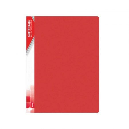 sprzęt biurowy 4 alibiuro.pl Teczka ofertowa OFFICE PRODUCTS PP A4 620mikr. 20 koszulek czerwona 3