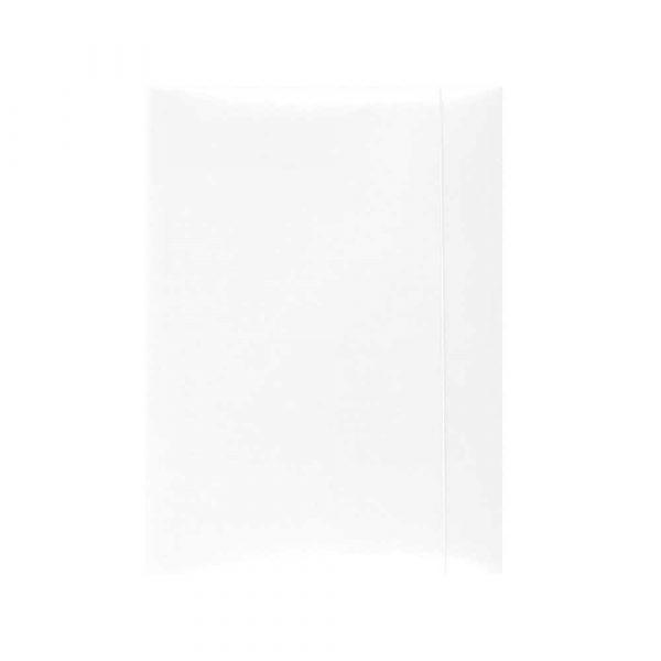 sprzęt biurowy 4 alibiuro.pl Teczka z gumką OFFICE PRODUCTS karton A4 300gsm 3 skrz. biała 20