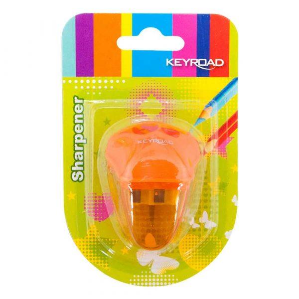 sprzęt biurowy 4 alibiuro.pl Temperówka KEYROAD plastikowa podwójna blister mix kolorów 75