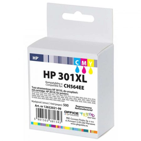 sprzęt biurowy 4 alibiuro.pl Tusz OP R HP CH564EE HP 301XL do DJ2050 cyan magenta yellow 44
