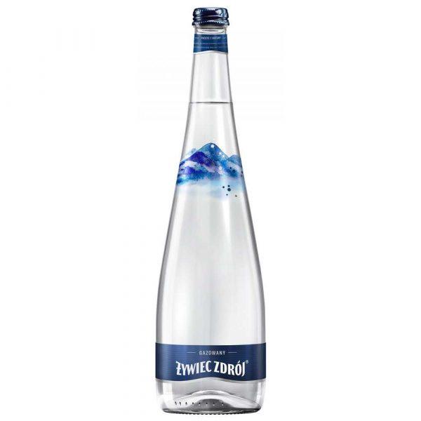 sprzęt biurowy 4 alibiuro.pl Woda ŻYWIEC ZDRÓJ gazowana butelka szklana 0 7l 71