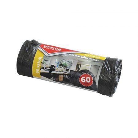 sprzęt biurowy 4 alibiuro.pl Worki na śmieci biurowe OFFICE PRODUCTS standard HDPE 60l 50szt. czarne 1