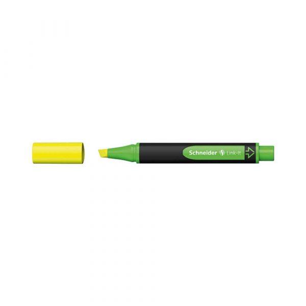 sprzęt biurowy 4 alibiuro.pl Zakreślacz SCHNEIDER Link It 1 4mm żółty 18