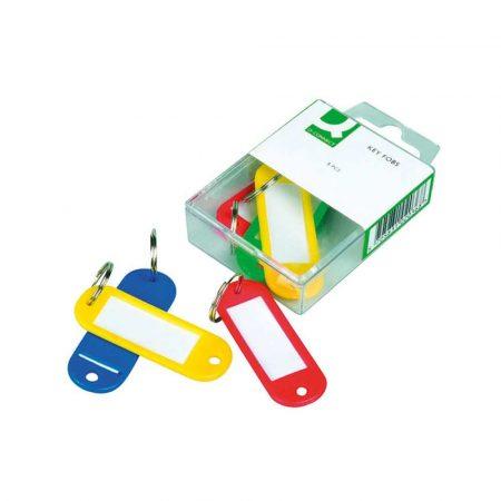 szafka na klucze z zamkiem szyfrowym 4 alibiuro.pl Zawieszki na klucze Q CONNECT 58x20mm 6szt. mix kolorów 83