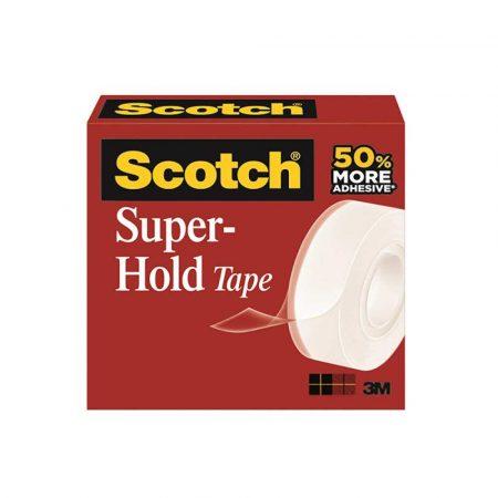 taśma do pakowania 4 alibiuro.pl Taśma biurowa SCOTCH Super Hold 700K super mocna 19mm 25 4m transparentna 44