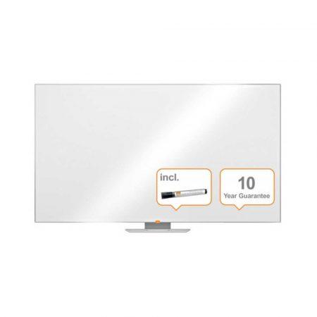tablica lakierowana panoramiczna 4 alibiuro.pl Tablica suchościeralna NOBO 189x107cm panoramiczna 85 Inch melaminowa biała 99