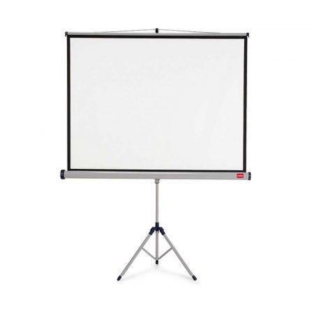 tablice i prezentacja 4 alibiuro.pl Ekran projekcyjny NOBO na trójnogu 4 3 2000x1513mm biały 11