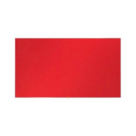 tablice i prezentacja 4 alibiuro.pl Tablica filcowa NOBO 90x51cm panoramiczna 40 Inch czerwona 37
