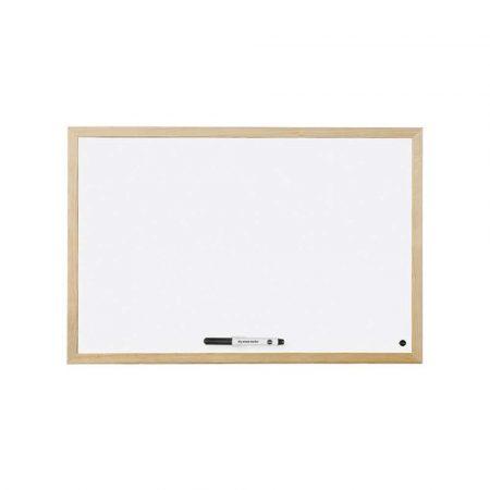 tablice i prezentacja 4 alibiuro.pl Tablica suchościeralna BI OFFICE magnetyczna lakierowana w ramie drewnianej 600x400 81