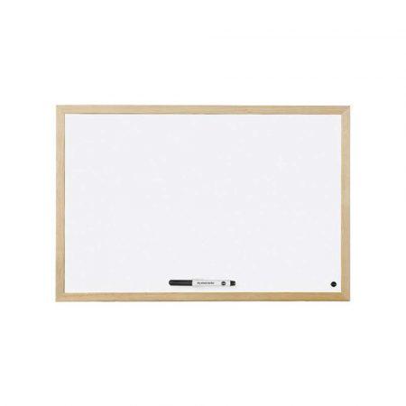 tablice i prezentacja 4 alibiuro.pl Tablica suchościeralna BI OFFICE magnetyczna lakierowana w ramie drewnianej 900x600 92