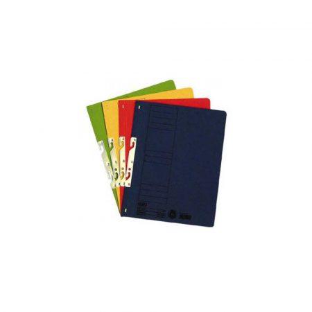 teczka biurowa 1 alibiuro.pl 22450 Skoroszyt kartonowy wczepiany hakowy do segregatora Elba zielony 43