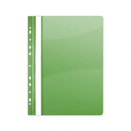 teczka biurowa 4 alibiuro.pl Skoroszyt DONAU PVC A4 twardy 150 160mikr. wpinany zielony 13
