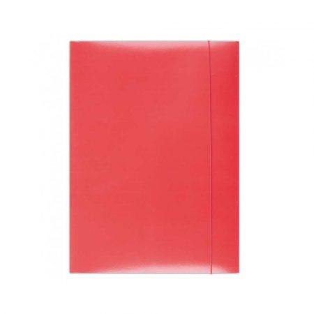 teczka biurowa 4 alibiuro.pl Teczka z gumką OFFICE PRODUCTS karton A4 300gsm 3 skrz. czerwona 87