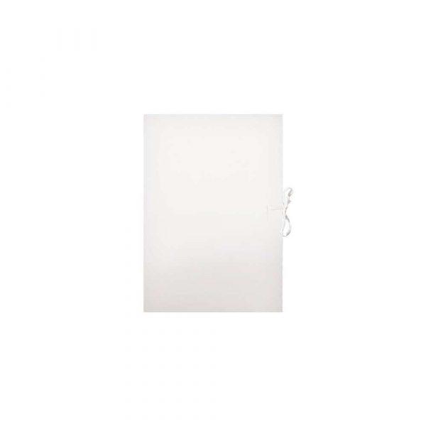 teczka z przegródkami 1 alibiuro.pl Teczka wiązana biała A4 250g Barbara 91