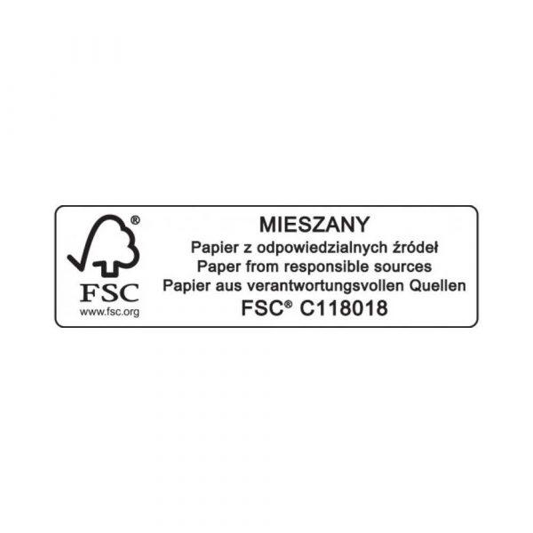 teczki 4 alibiuro.pl Teczka z gumką DONAU Life Karton A4 500gsm 3 skrz. zielony 42