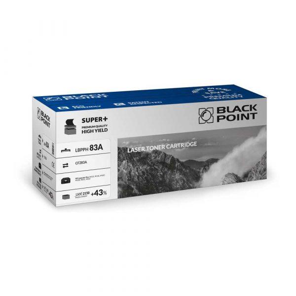 toner zamiennik 3 alibiuro.pl LBPPH83A Toner BP S HP CF283A BlackPoint LBPPH83A BLHM127BHBW 45