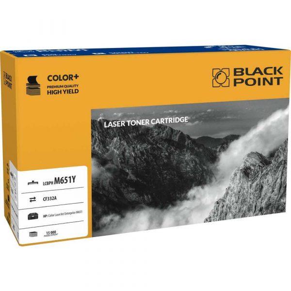 toner zamiennik 3 alibiuro.pl LCBPHM651Y Toner BP HP CF332A BlackPoint LCBPHM651Y BLH651YEBW 72