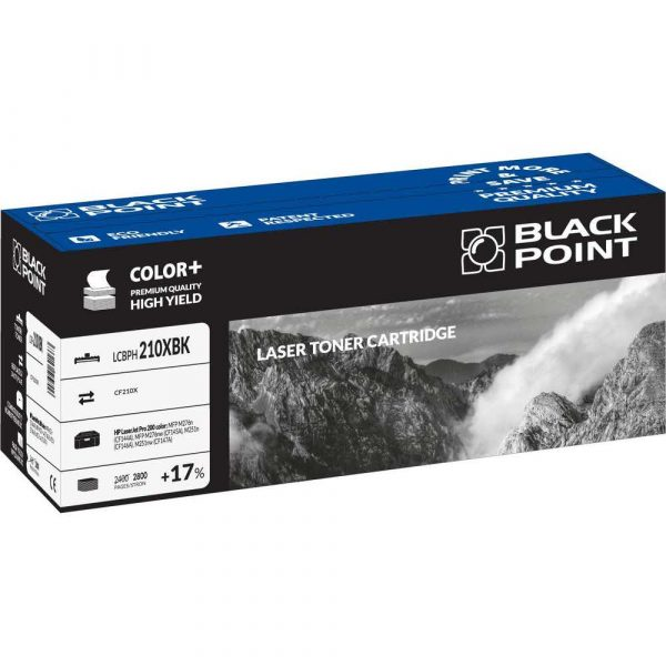 toner zamienny 3 alibiuro.pl LCBPH210XBK Toner BP HP CF210X BlackPoint LCBPH210XBK BLH200BKHW 7
