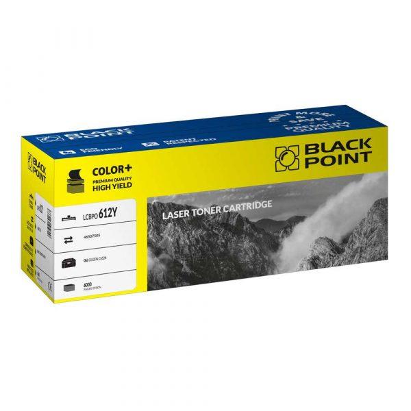 toner zamienny 3 alibiuro.pl LCBPOC612Y Toner BP Oki 46507505 BlackPoint LCBPOC612Y BLOKI612YEBW 43
