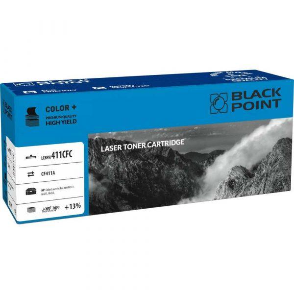 tonery zamienniki 3 alibiuro.pl LCBPH411ACFC Toner BP HP CF411A BlackPoint LCBPH411ACFC BLH411ACBW 8