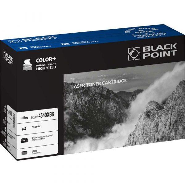 tonery zamienniki 3 alibiuro.pl LCBPH4540XBK Toner BP HP CE264X BlackPoint LCBPH4540XBK BLH4540BKBW 67