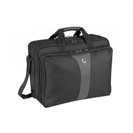 torba komputerowa 4 alibiuro.pl Torba na laptopa WENGER Legacy 17 Inch 420x320x210mm czarna szara 16