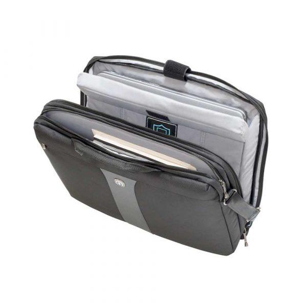 torba komputerowa 4 alibiuro.pl Torba na laptopa WENGER Slim Legacy 17 Inch 440x340x80mm czarna 80
