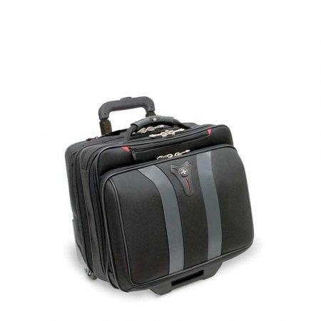torba komputerowa 4 alibiuro.pl Torba pilotka WENGER Granada 17 Inch 420x350x250mm czarna szara 23