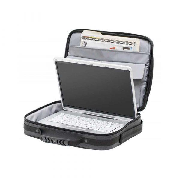 torby komputerowe 4 alibiuro.pl Torba na laptopa WENGER Insight 15 6 Inch 410x310x140mm szara 33
