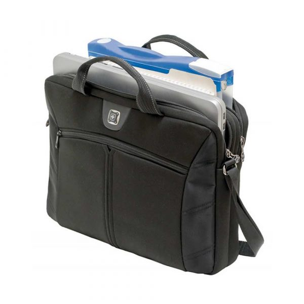 torby komputerowe 4 alibiuro.pl Torba na laptopa WENGER Slim Sherpa 16 Inch 410x320x60mm czarna 3