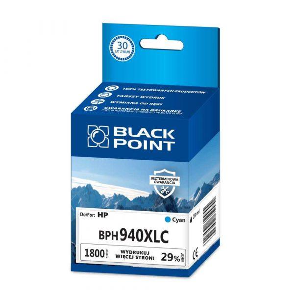 tusz zamiennik 3 alibiuro.pl BPH940XLC Ink Tusz BP HP BLIS BlackPoint BPH940XLC SGH4907BGCW 85